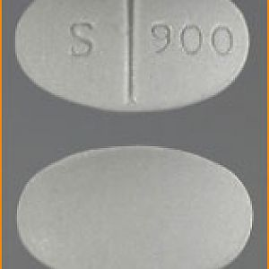 S 900 Pill White color Oval/ Elliptical Shape [Alprazolam] - Pill Identifier